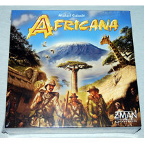Africana Exploration Board Game by Z Man Games (2012) New