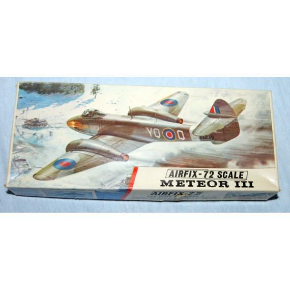 Meteor iii Series 2 Model by Airfix (1969)
