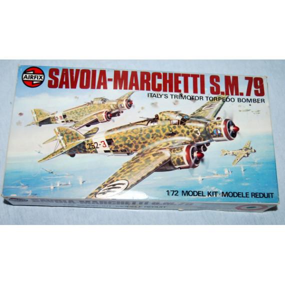 Savoia-Marchetti S.M.79 Series 4 Model by Airfix (1975)