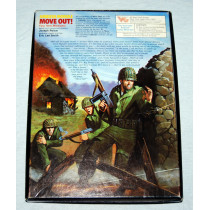 Ambush Expansion Module 1 -Solitaire Squad Level World War 2 Combat Board Game by Victory Games (1984)