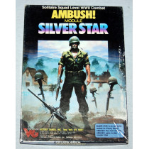 Ambush Silver Star -Module 3 Expansion -Solitaire Squad Level World War 2 Combat Board Game by Victory Games (1987)