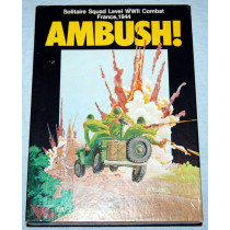 Ambush - Solitaire Squad Level World War 2 Combat Board Game by Victory Games (1983)