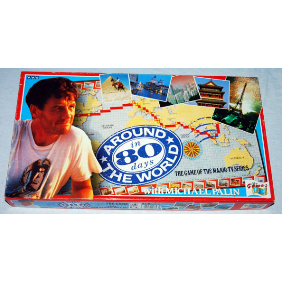 Around The World in 80 Days - Board Game by The Games Team (1989)