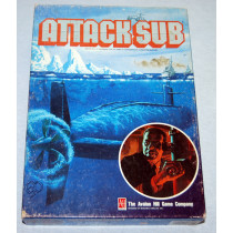 Attack Sub Card Based Game by Avalon Hill (1991)