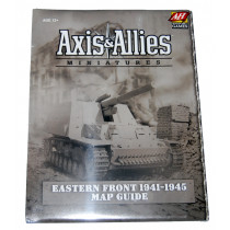 Axis and Allies Miniatures -Eastern Front 1941 - 1945 Map Guide by Avalon Hill (2008) New