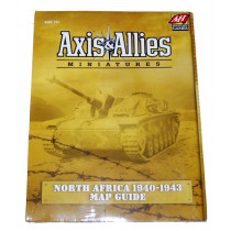 Axis and Allied Miniatures- North Africa 1940-1943 Map Guide by Avalon Hill (2008)