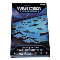 Axis and Allies -War at Sea 2 Player Starter Set by Avalon Hill (2007) New