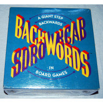 Backwords - Board Game by Random House (1988) New