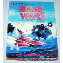 Boat Wars Board Game by Steve Jackson Games (1988) Unplayed