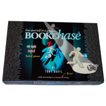 Bookchase Board Game by Tony Davis (2007) Unplayed