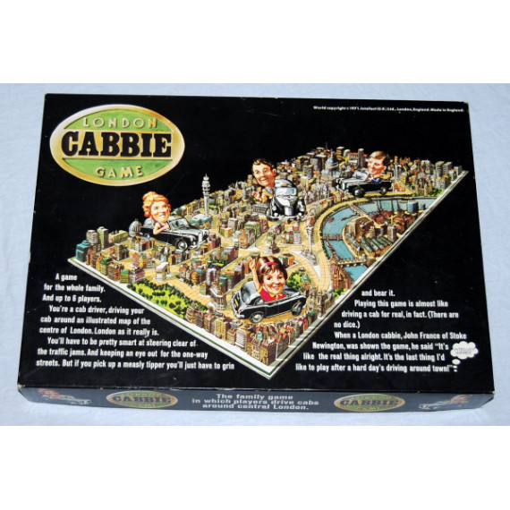 London Cabbie Game by Intellect Games (1971)