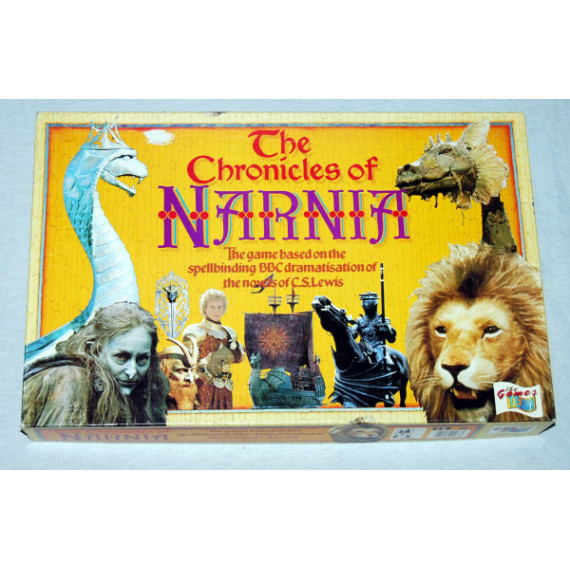 The Chronicles of Narnia Board Game by the Games Team (1988)