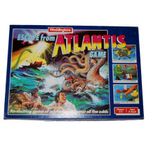Escape from Atlantis Game by Waddingtons (1986)
