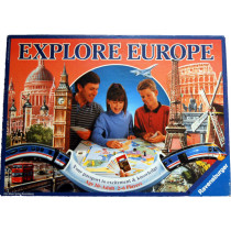 Explore Europe  Board Game by Ravensburger (1992) Unplayed