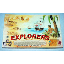 Explorers - Adventure Board Game by Family Pastimes (1982) Unplayed
