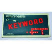 Keyword - Word Board Game by Waddingtons (1953)