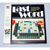 Last Word Board Game by  MB Games (1986)