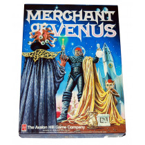 Merchant of Venus - Science Fiction Trading Game by Avalon Hill (1988)