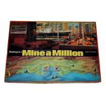 Mine a Million Board Game by Waddingtons (1965) Unplayed