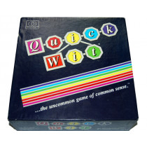Quick Wit Family/Party Board Game by The Games Gang Ltd (1987)