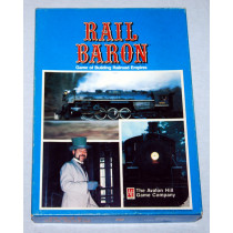 Rail Baron Game of Building Railroad Empires by Avalon Hill (1977)