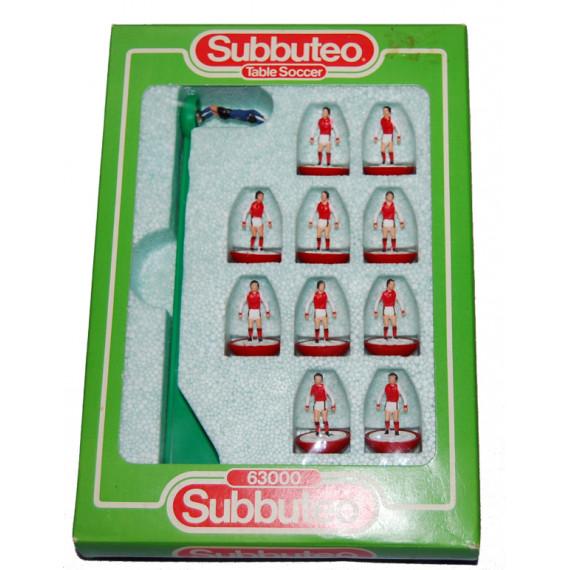 Arsenal Ref 486 Subbuteo Lightweight Team (1984 - 1986)