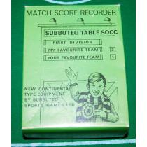Match Score Recorder Set Z Subbuteo Accessory (1969)