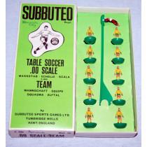 Norwich City Ref 028 (Yellow Socks) Subbuteo Heavyweight (1975)