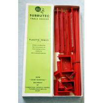 Subbuteo Red Plastic Fence C108 - (1960's)