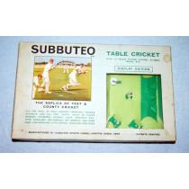 Subbuteo Cricket Display Edition (1968)
