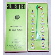West Bromwich Albion Ref 003 Subbuteo Heavyweight (1973) Rare Blue Sock Version