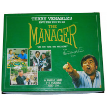 Terry Venables - The Manager Board Game by Glenhope Management Ltd (1990)