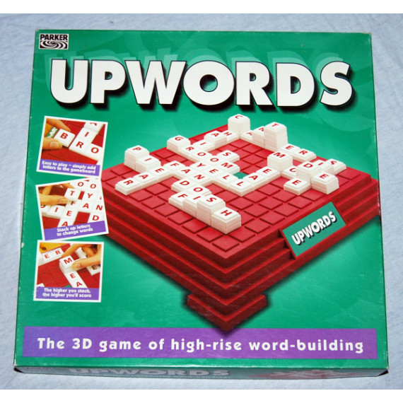 Upwords -3D Word Game by Parker (1994)
