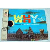 WHY - A Mystery Game Presented by Alfred Hitchcock by Milton Bradley (1961)