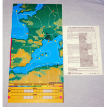 Civilization West Extension Map by Avalon Hill (1986)