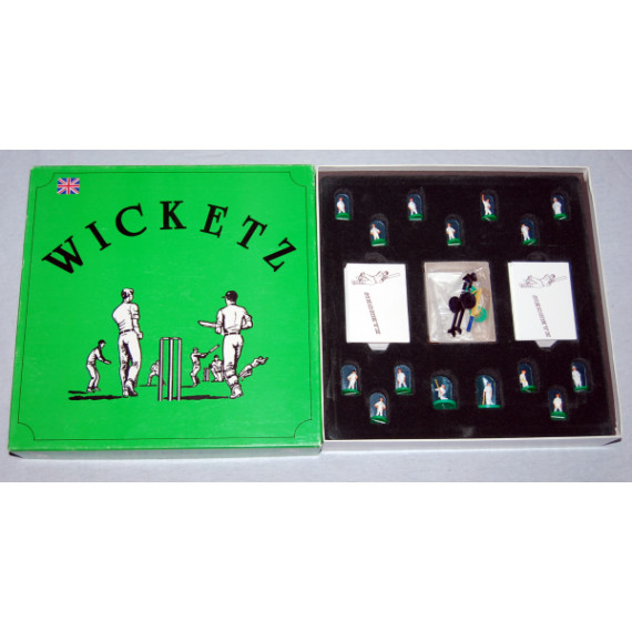 Wicketz - Cricket Board Game by R.D.A (1988)