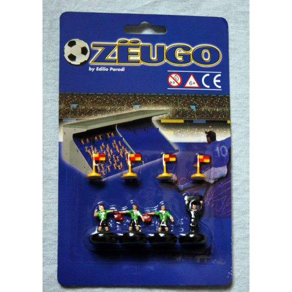 Match Officials (Green) and Corner Flags by Zeugo (New)